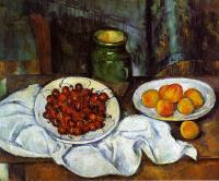 Cezanne, Paul - Cherries and Peaches