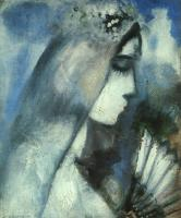 Chagall, Marc - Bride with a Fan