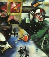 Chagall, Marc - The Soldier Drinks