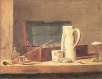 Chardin, Jean Baptiste Simeon - The Smoker's Case