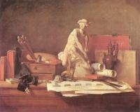 Chardin, Jean Baptiste Simeon - The Attributes of the Arts and their Rewards