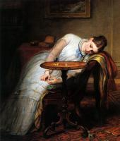 Charles West Cope - Hope Deferred And Hopes And Fears That Kindle Hope