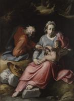 Cornelis van Haarlem - The Holy Family