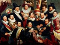 Cornelis van Haarlem - Banquet of the Officers of the Company of St George