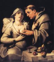 Cornelis van Haarlem - The Monk And The Nun