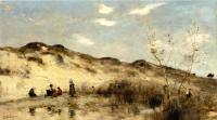 Corot, Jean-Baptiste-Camille - A Dune at Dunkirk