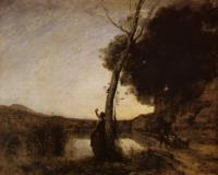 Corot, Jean-Baptiste-Camille - The Evening Star