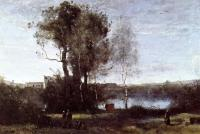 Corot, Jean-Baptiste-Camille - Large Sharecropping Farm