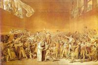David, Jacques-Louis - The Tennis Court Oath