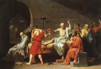 David, Jacques-Louis - The Death of Socrates