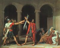 David, Jacques-Louis - The Oath of the Horatii