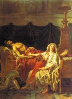 David, Jacques-Louis - Andromache Mourning Hector