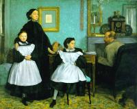Degas, Edgar - The Bellelli Family