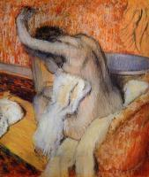 Degas, Edgar - After the Bath, Woman Drying Herself