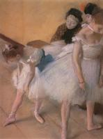 Degas, Edgar - Before the Rehearsal