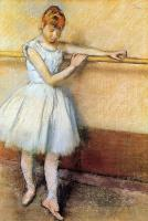 Degas, Edgar - Dancer at the Barre