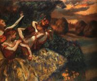Degas, Edgar - Four Dancers