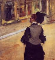 Degas, Edgar - A Visit to the Museum