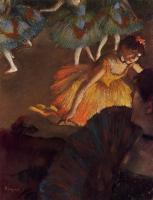 Degas, Edgar - Ballerina and Lady with a Fan