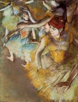 Degas, Edgar - Ballet Dancers on the Stage
