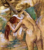 Degas, Edgar - Bather by the Water