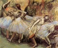 Degas, Edgar - Dancers