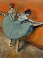 Degas, Edgar - Dancers at the Barre