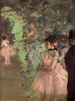 Degas, Edgar - Dancers Backstage