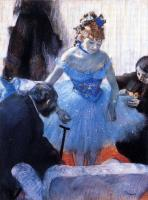 Degas, Edgar - Dancer's Dressing Room