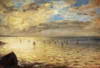Delacroix, Eugene - The Sea from the Heights of Dieppe