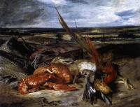 Delacroix, Eugene - Still-Life with Lobster