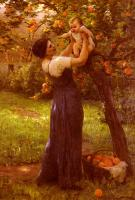 Delpy, Hippolyte Camille - Mother and Child in the Garden