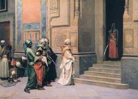 Deutsch, Ludwig - Outside the Palace