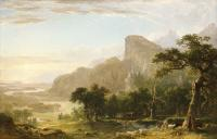 Durand, Asher Brown - Landscape--Scene from Thanatopsis