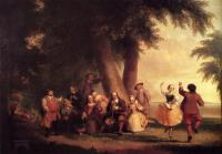 Durand, Asher Brown - The Dance Of The Battery In The Presence Of Peter Stuyvesant