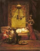 Edouard Frederic Wilhelm Richter - In The Harem
