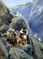 Farney, Henry - Apache Indians in the Mountains
