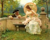 Federico Andreotti - A Tender Moment In The Garden