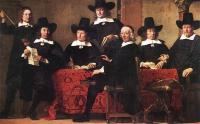 Ferdinand Bol - Governors of the Wine Merchants Guild