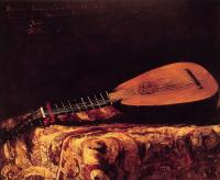 Ferdinand Roybet - The Mandolin