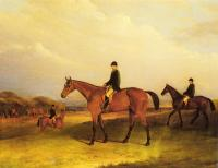 Ferneley, John - A Jockey On A Chestnut Hunter