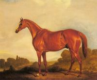 Ferneley, John - A Portrait of the Racehorse Harkaway, the Winner of Goodwood