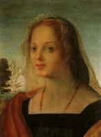 Fiorentino, Rosso - Portrait of a Young Woman