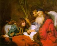 Flinck, Govert Teunisz - Isaac Blessing Jacob