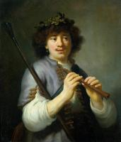 Flinck, Govert Teunisz - Rembrandt as Shepherd