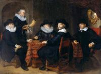 Flinck, Govert Teunisz - Four Governors of the Arquebusiers Civic Guard, Amsterdam