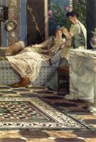 Ford Madox Brown - Alma Tadema Sir Lawrence From An Absent One