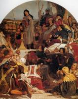 Ford Madox Brown - Chaucer at the Court of Edward