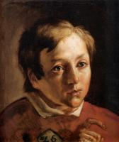 Ford Madox Brown - Head of a Page Boy