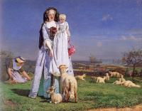 Ford Madox Brown - The Pretty Baa Lambs